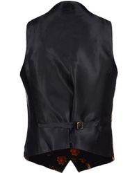 Bevilacqua Waistcoat - Black