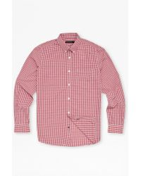 French Connection Core Silicon Peach Connery Shirt - Lyst
