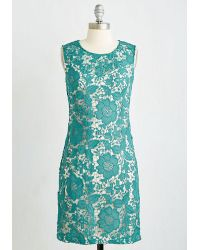 Coco Love Going Album And Beyond Dress In Teal - Green
