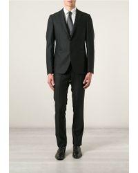 Tagliatore 0205 Black Two Pieces Suit - Lyst