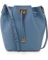 Michael Kors Miranda Large Drawstring Bucket Bag - Lyst