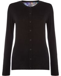 Pied a Terre   Blurred Floral Cardigan   Lyst