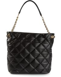 Ferragamo Malia Quilted Shoulder Bag - Lyst