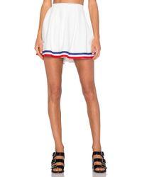 UNIF Squad Skirt - White
