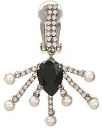 Vickisarge - Cosmos Crystal-Star Earrings - Lyst