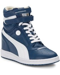 Puma x Miharayasuhiro My-66 Leather Wedge Sneakers - Lyst