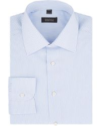 Barneys New York Stripe Shirt - Lyst
