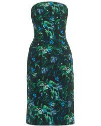 Erdem Saskia Floral-Print Dress - Lyst