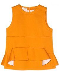 Marni Pumpkin Tank Top orange - Lyst