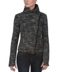 Bench - Heathered Moto Jacket - Lyst
