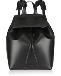 Mansur Gavriel Leather Backpack - Lyst