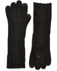 Echo - 'touch - Luxe' Knit Tech Gloves - Lyst