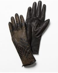 Free People - Henna Leather Glove - Lyst