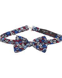 Barneys New York Blue Bow Tie Florent