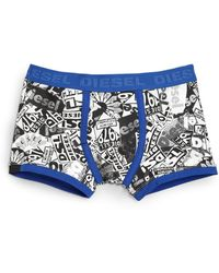 Diesel Patches Briefs blue - Lyst