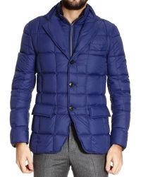 Fay Urban Nylon Light Down Jacket with Double Front - Lyst