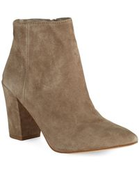 Steven By Steve Madden Lidaa Ankle Boots - Lyst