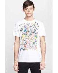 Marc Jacobs Men'S 'Exploded Baste' Graphic T-Shirt - Lyst