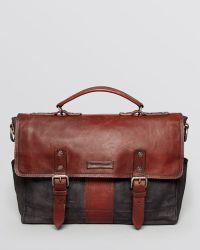 Frye - Trevor Washed Leather Brief - Lyst
