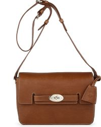 Mulberry Bayswater Natural Leather Shoulder Bag Oak - Lyst