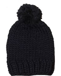 Wool And The Gang - Zion Lion Hat With Pom Pom - Lyst