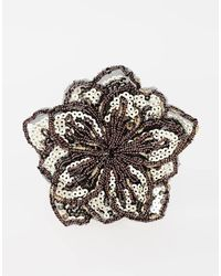 Asos Limited Edition Sequin Hair Flower - Lyst