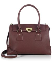 Ferragamo | Lotty Medium Satchel | Lyst