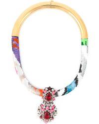 Shourouk 'Zulu' Necklace - Lyst