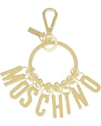 Moschino - Logo Key Ring - For Women - Lyst