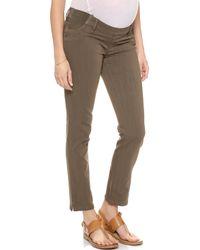 Dl1961 Angel Ankle Maternity Jeans  Lansing - Lyst