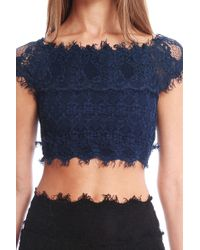 Nightcap Florence Lace Top - Lyst