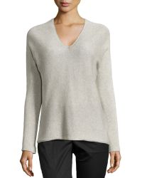 Vince Double V-Neck Sweater - Lyst