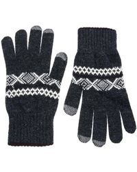 Glen Lossie - Lambswool Scarf & Gloves Set - Lyst