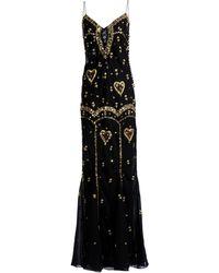 Dior Long Dress - Black