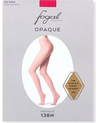 Fogal Opaque Tights - For Women - Lyst