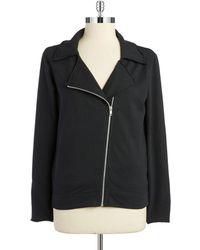 Alternative Apparel - Asymmetrical-zip Jacket - Lyst