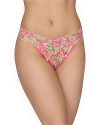 Hanky Panky Lilly Pulitzer Luscious Original Rise Thong - Lyst