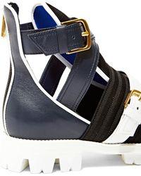 Vionnet - Women's Sandal Sneakers In Blue - Lyst