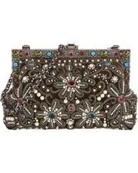 Dolce & Gabbana Crystal-Embellished Vanda Clutch - Lyst