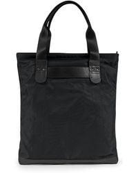 Sunspel - Showerproof Italian Nylon And Leather Tote Bag - Lyst