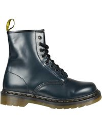 Dr. Martens Anfibio Milled Smooth Blu - Lyst