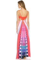 d29eeabe4e1 Mara Hoffman - Cutout Maxi Dress - Beams Navy - Lyst