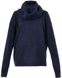 Acne Studios Demi Mix Woolblend Sweater - Lyst