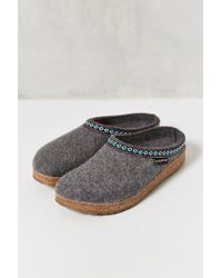 Haflinger - Grizzly Wool Cork Mule - Lyst