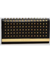 Ted Baker Wallet - Studded Metal Bar Continental - Lyst