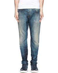 Scotch & Soda Ralston Washed Jeans - Blue
