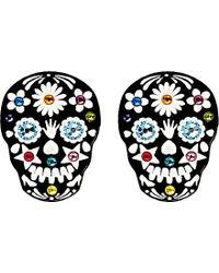Tatty Devine Sugar Skull Ring - For Women - Lyst