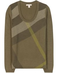 Burberry Brit Merino Wool and Cashmereblend Sweater - Lyst