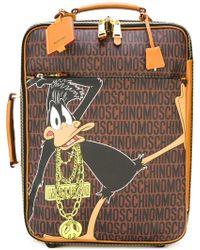 Moschino - Daffy Duck Monogrammed Trolley - Lyst