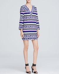 Diane von Furstenberg Tunic Dress - Ruby Silk - Lyst
